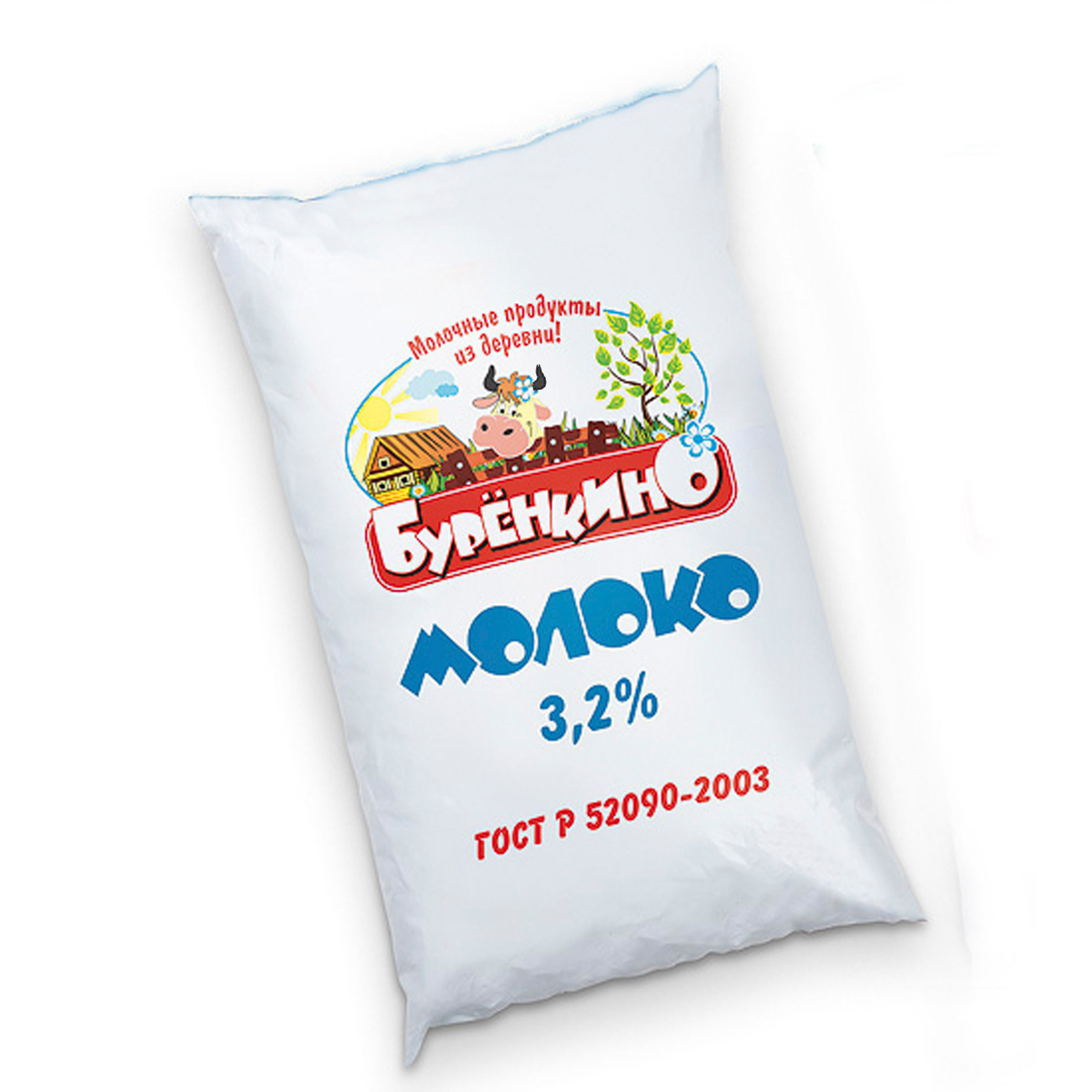 Миниатюра записи Молоко «Буренкино» — 3,2%